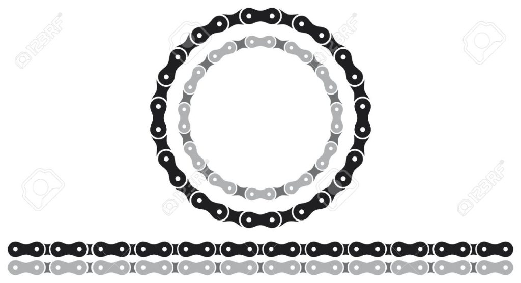 17472583-bicycle-chain-silhouettes-stock-vector-bike