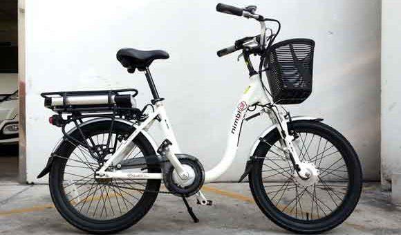 จักรยานไฟฟ้า ขับง่ายไม่ต้องออกแรง